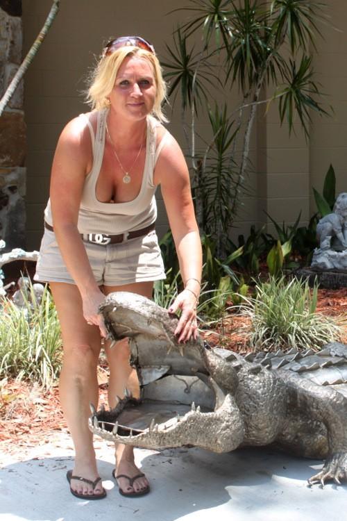 Nie straszne jej bestie dzikie!