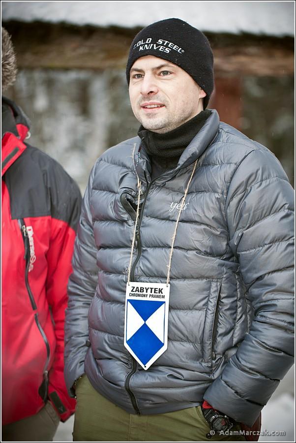 Wojciech P. ps. Puchal - tu jako miły starszy człowiek...